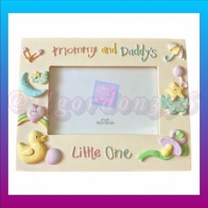 Russ Berrie 4X6 Vintage Baby's Picture Frame